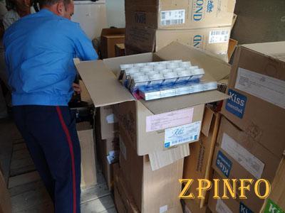 В Запорожской области перекрыли поставку 83 тыс. пачек нелегальных сигарет