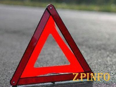 В Запорожской области перевернулась иномарка
