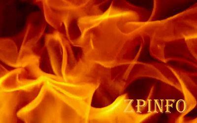 В Запорожской области тушили пожар в частном секторе