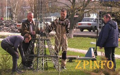В Запорожской области появится Эйфелева башня