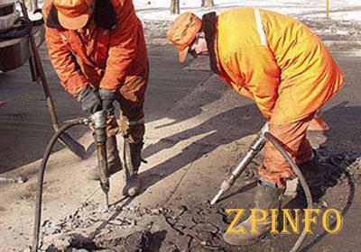 В Запорожской области проведен ямочный ремонт на всех дорогах госзначения