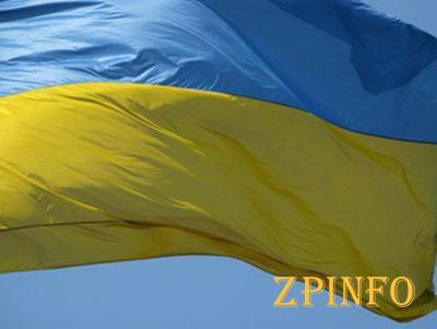 В Запорожской области развешено порядка 10 тысяч государственных флагов