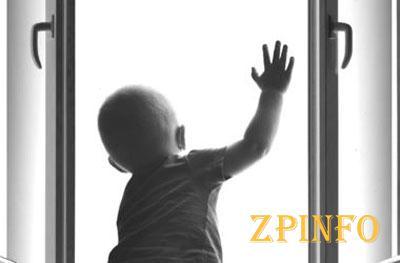 В Запорожской области ребенок выпал из окна и разбился насмерть
