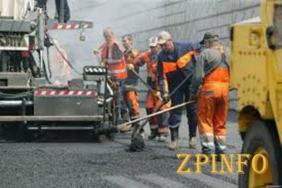 В Запорожской области ремонт дорог идет полным ходом