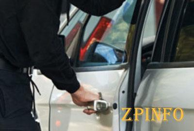 В Запорожской области рецидивист угнал автомобиль