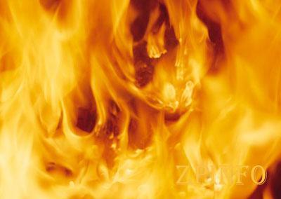 В Запорожской области сгорел дом