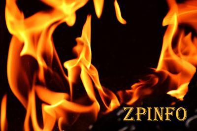 В Запорожской области сгорел жилой дом