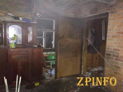 В Запорожской области сгорела летняя кухня