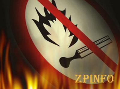 В Запорожской области сохранится чрезвычайная пожарная опасность