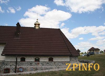 В Запорожской области строят большой мужской монастырь