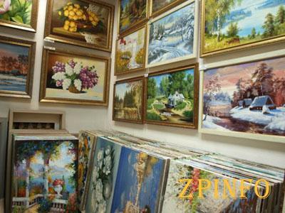 В Запорожской области украли картин на 110 000 гривен