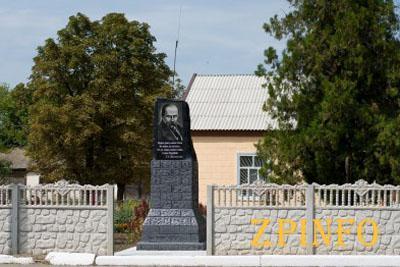 В Запорожской области установили памятник Шевченко вместо Ленина