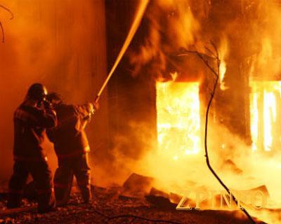 В Запорожской области в горящем доме обнаружили труп 30-летней женщины
