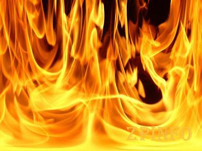 Во время пожара в Запорожской области погиб мужчина
