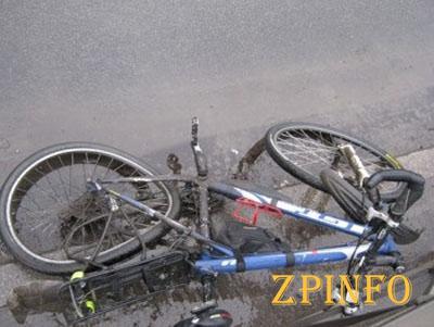 В Запорожской области водитель иномарки сбил велосипедиста