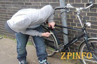 В Запорожской области задержали велосипедного похитителя