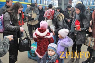 В Запорожскую область стало прибывать меньше беженцев