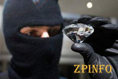 В Запорожья ограбили ювелирный магазин