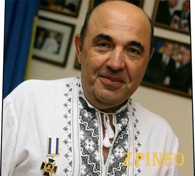 Вадим Рабинович в Запорожье, получил больше всего голосов