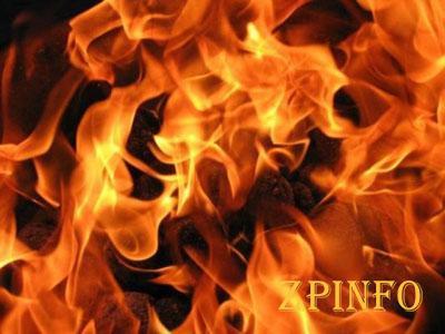 Вечером в Запорожье загорелась дача