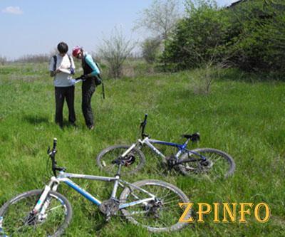 Впервые в Запорожье, на острове «Хортица», прошел велоквест