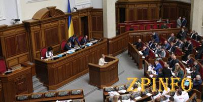 ВР приняла закон о введении военного положения (Видео)