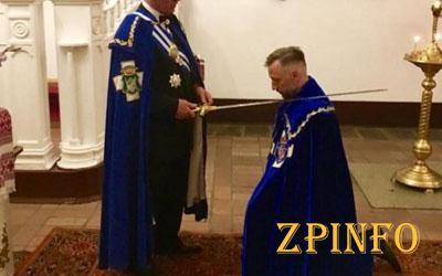 Запорожец официально стал рыцарем