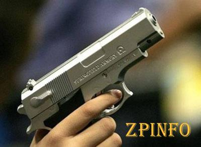 Запорожец размахивал пистолетом в супермаркете