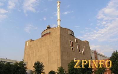 Запорожская АЭС работает в половину мощности