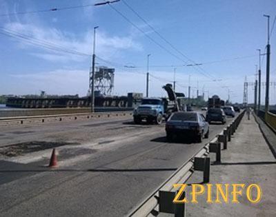 Запорожская полиция просит водителей не ездить по ДнепроГЭСу