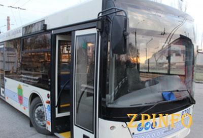 Запорожские автобусы оборудуют кондионерами