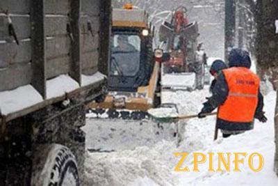 Запорожские дороги не готовы к зиме