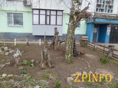 Запорожские дворы приведут в порядок ко Дню города