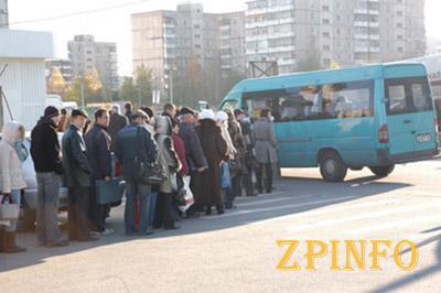 Запорожские маршрутчики грозятся повысить тарифы