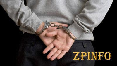 Запорожские полицейские поймали вора