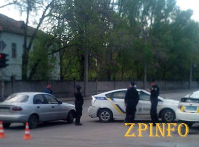 Запорожские полицейские стали участниками ДТП
