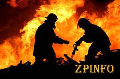 Запорожские пожарники потушили за 24 часа 26 пожаров