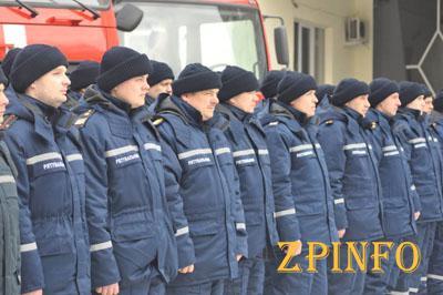 Запорожские спасатели получили боевое снаряжение