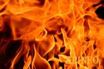 Запорожские спасатели вывели из пожара 10 человек