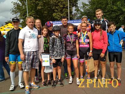 Запорожские триатлонисты завершают сезон медалями