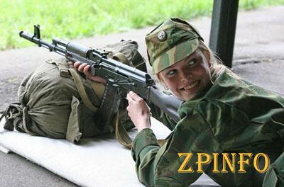 Запорожские женщины подписывают контракты и идут служить в армию