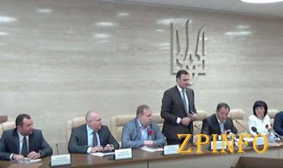 Запорожский губернатор представил своих заместителей и глав районных администраций