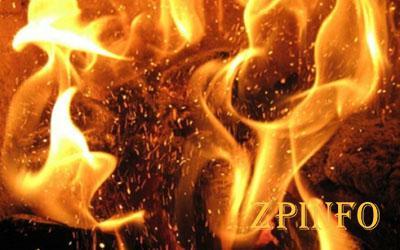 Запорожский селянин погиб в дыму пожара