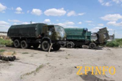 В Запорожской области появилась база для ремонта военной техники
