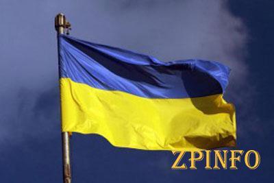 Запорожскую область украсили почти 10 тыс. флагов Украины