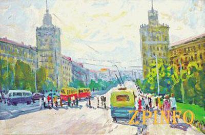 Запорожцам предлагают прогуляться по городу с художниками
