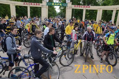 Запорожцев зовут на городской велопробег