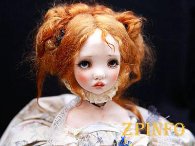 Запорожцев зовут на выставку авторских кукол