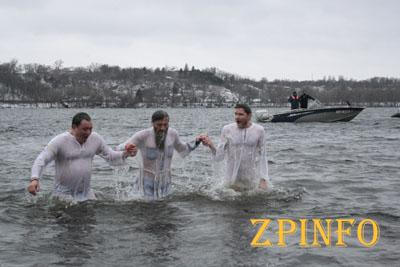 Запорожцы отметили Крещение