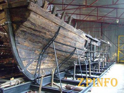 Запорожцы смогут полюбоваться старинными кораблями
